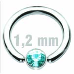 4 mm HELLBLAU Clip-In Zirkonia