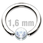 5 mm CRYSTAL Clip-In Zirkonia
