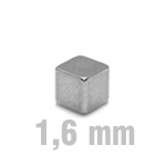 4x4x4 mm, Square Quader