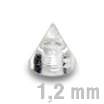 3x3 mm UV-TRANSPARENT