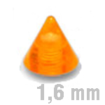 5x6 mm UV-ORANGE